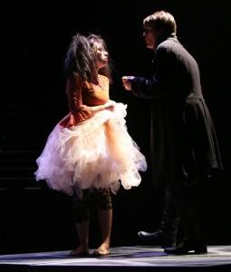 "Helena Ciuciura as Fuchsia in ""Gormenghast"". Photo courtesy David Vivian."