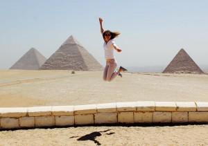 Aida Marcantonio in Egypt