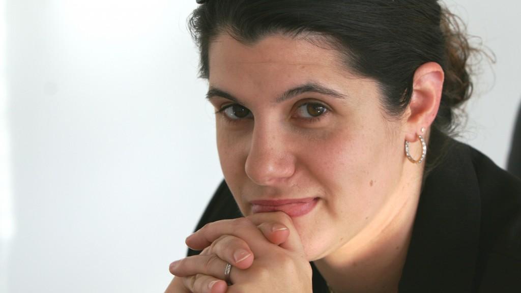 Laura Ricciuto (BA '04, MBA '08), winner of the 2010 Nitsopoulos Family Entrepreneurship Award