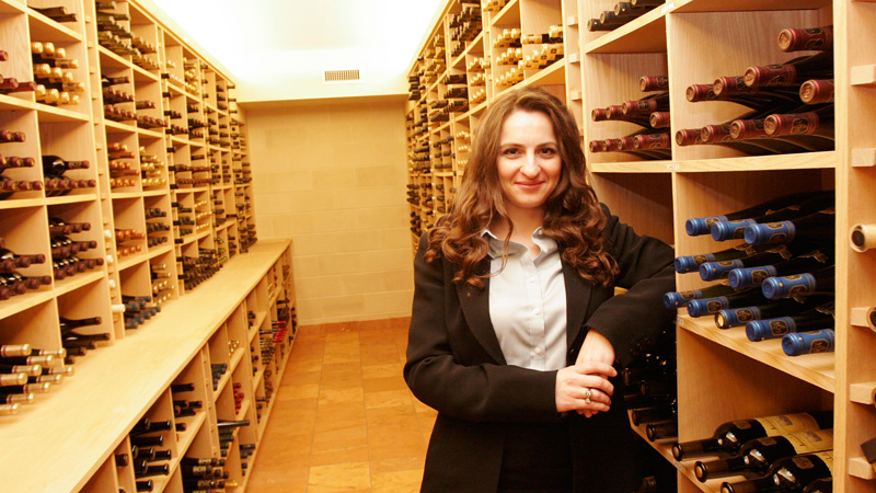 This year, Antonia Mantonakis will study how labels impacts consumers' perceptions of wine.