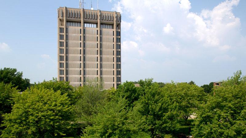 Brock University tower