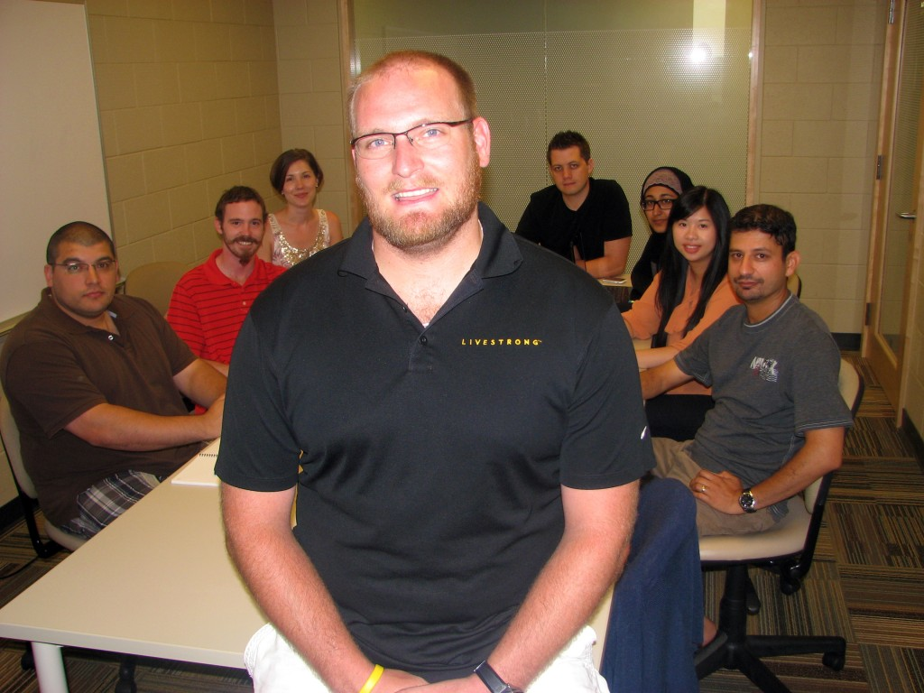 Kiel Ormerod is president of the Graduate Students' Association.