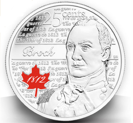 The Royal Canadian Mint is hold a coin swap at Brock on Monday for people to trade old coins for new 1812 commemorative ones.