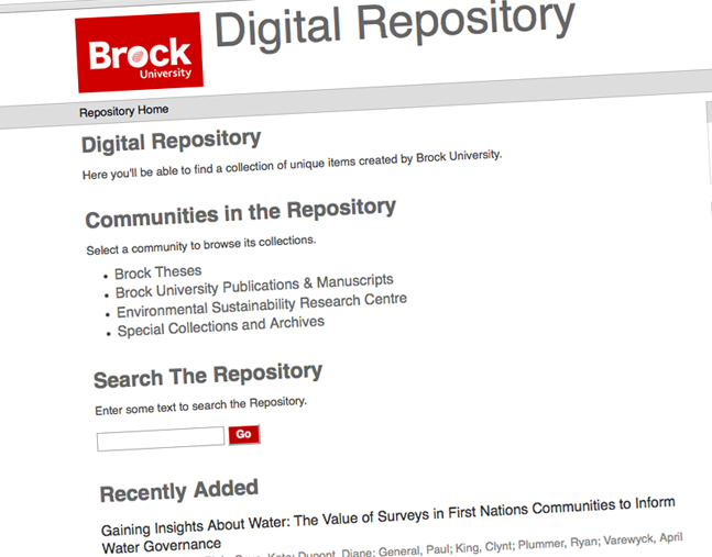 Brock has launched an e-thesis submission protocol for graduate students.