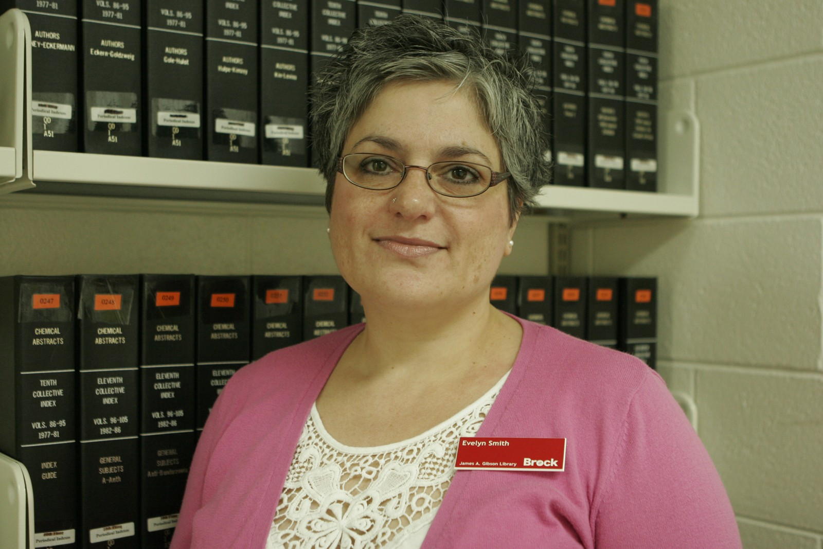 three questions evelyn smith the brock news evelyn smith is the help desk co ordinator and data research assistant at the james a gibson library
