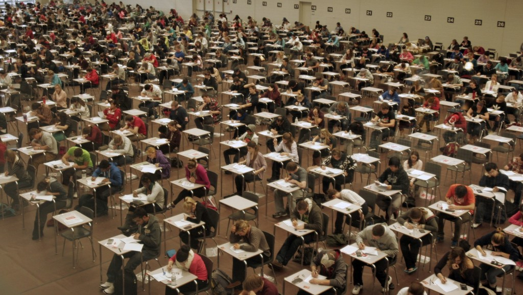 Exams started Wednesday, marking two weeks of stress and the end of a term.