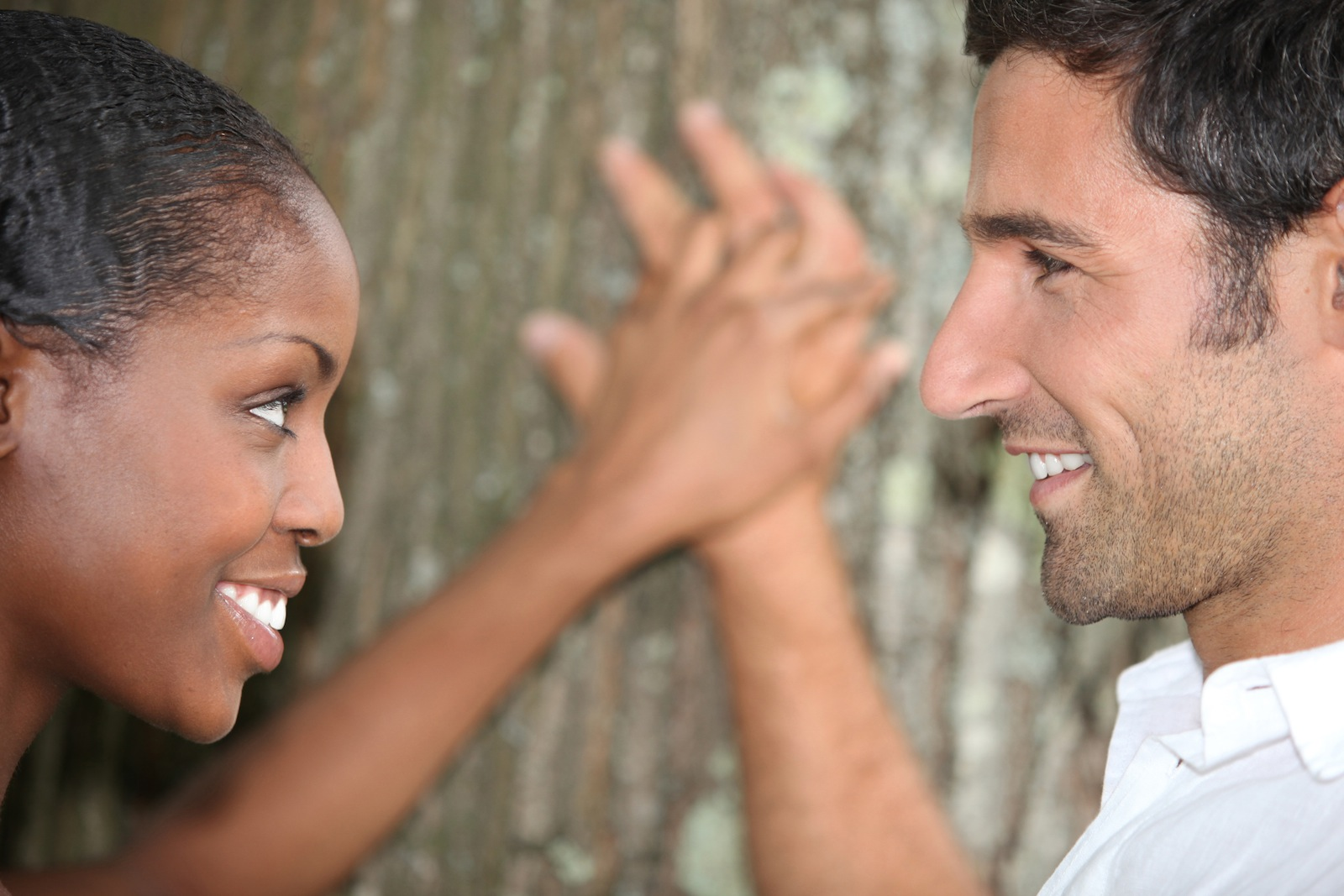 Interracial african marriage video
