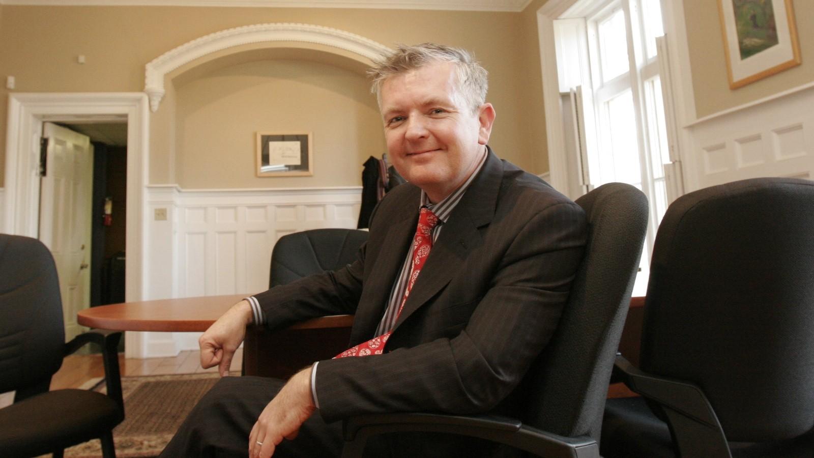 Stuart Reid, director/curator of Brock University's Rodman Hall Art Centre
