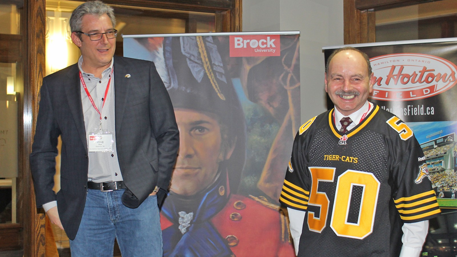 f87c695a6 Hamilton Tiger-Cats executive vice-president and Brock graduate Doug Rye