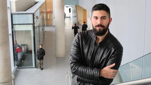 MEd student Jason Ribeiro