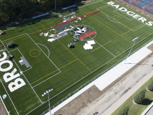 Brock University's artificial turf field will open Saturday, September 19, 2015.