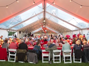 Homecoming events were a big draw this weekend, including the Red Dinner.