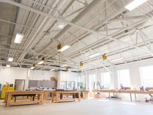 The scene carpentry room in the MIWSFPA.