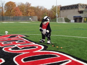 Boomer the Badger mascot