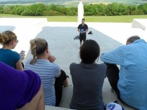 Tyler Marr at the Juno Beach Centre.