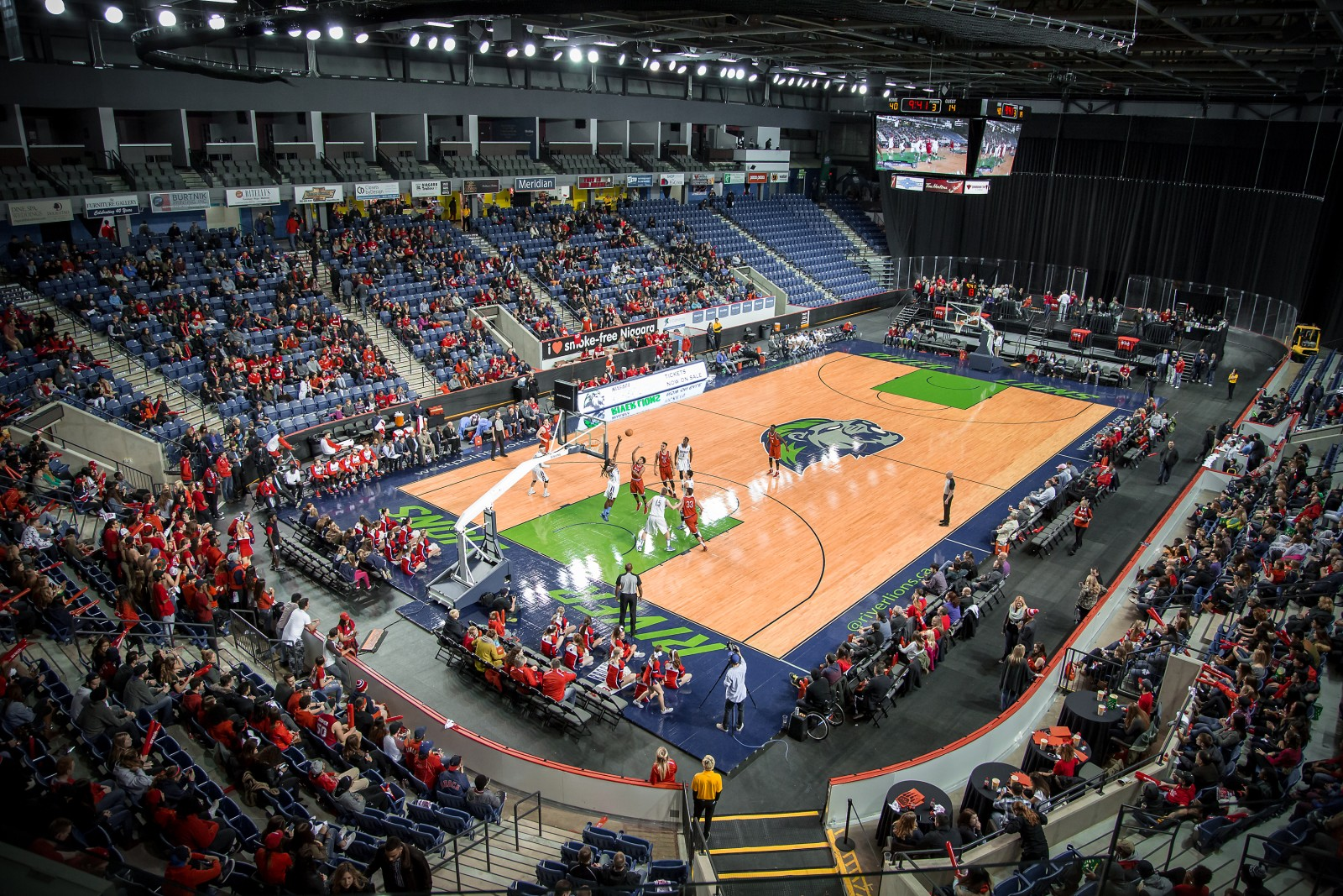 Canada S Top Two Basketball Teams To Clash At The Meridian