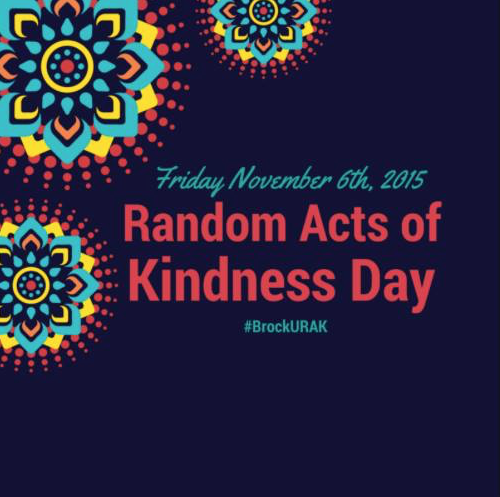Random Acts of Kindness Day – The Brock News