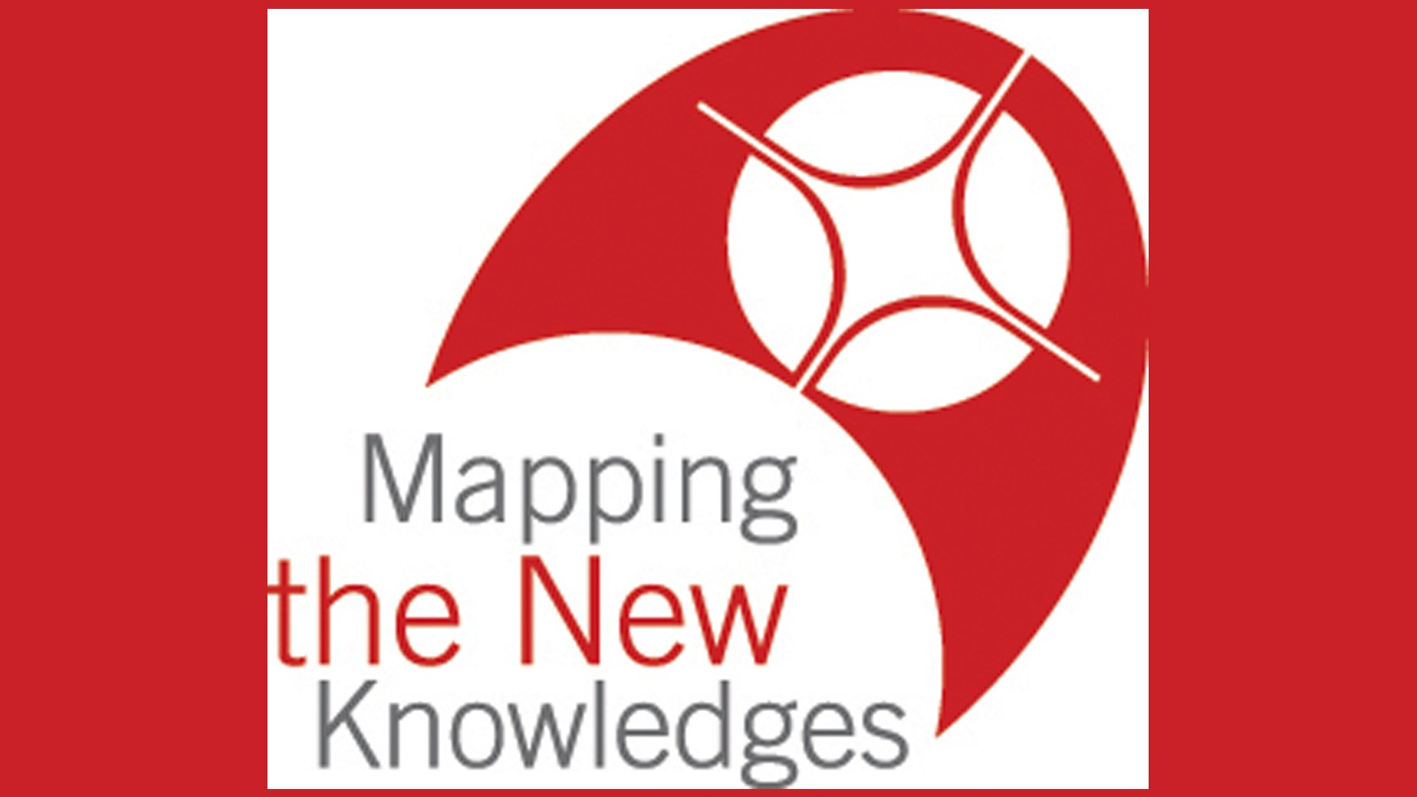 Mapping the New Knowledge graphic