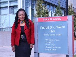 Dolana Mogadime, Associate Professor in the Faculty of Education at Brock University.