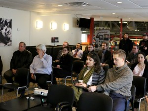 Local politicians were among those who listened to Brock University's Students' Union present the findings of a student transit survey Thursday.