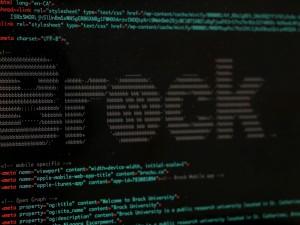 Brock in code on the website.