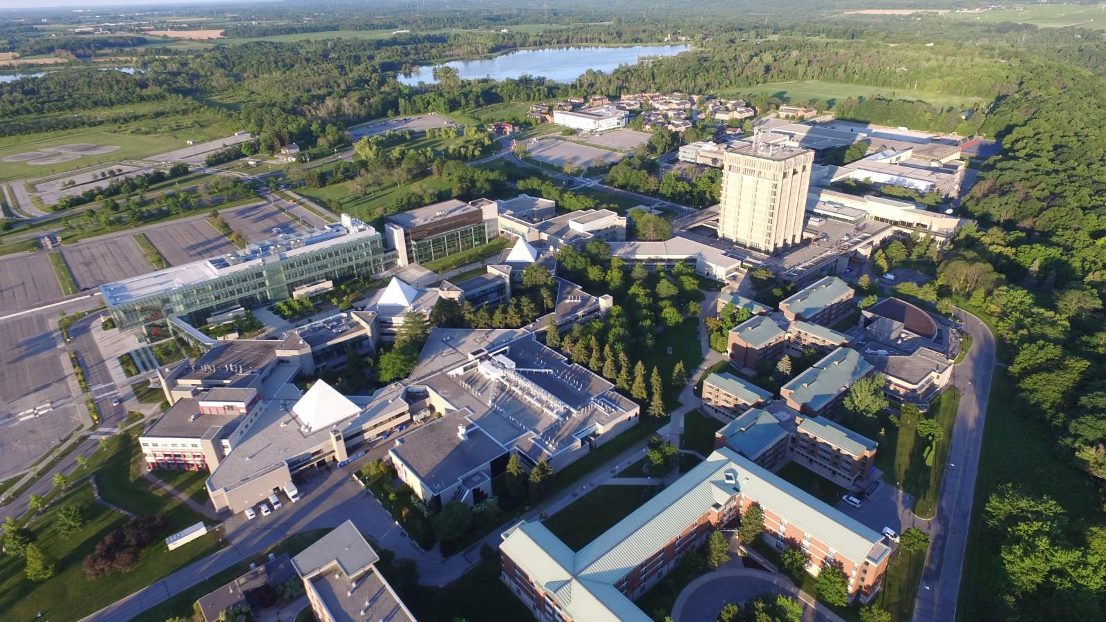 Brock University in St. Catharines, Ontario, Canada