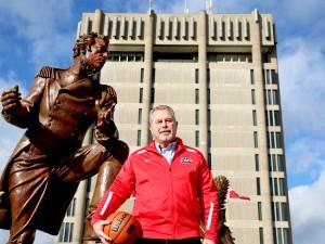 Neil Lumsden, Brock University's Director, Athletics and Recreation.