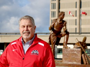 Neil Lumsden, Brock University's new Director, Athletics and Recreation.