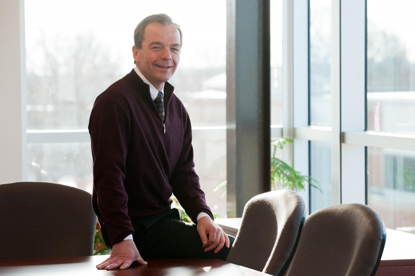 William J. Montelpare, PhD. Photo courtesy of University of Prince Edward Island.