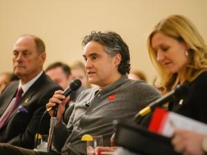 Innovation Matters panelists Jim Treliving, Bruce Croxon and Deborah Rosati
