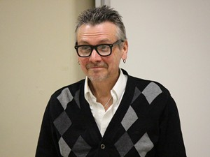Film critic and author Geoff Pevere.