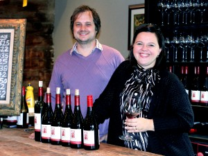 Nadia and Ilya Senchuk are living their dream of owning a winery. They are the proprietors of Leaning Post Wines in Winona.