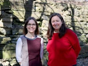 SPMA professors Shannon Kerwin, left and Kirsty Spence.