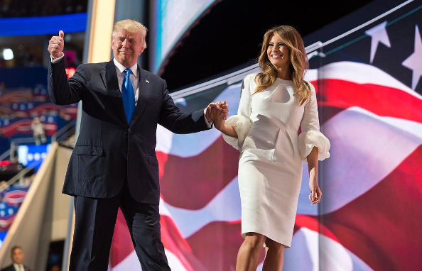 Instagram photo posted by Donald Trump after Melania Trump's speech at the Republican National Convention.