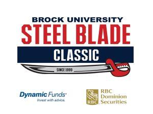 Brock University Steel Blade Classic logo
