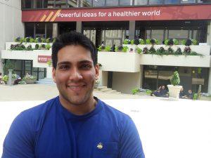 Harish Aggarwal spent the summer at Harvard University.