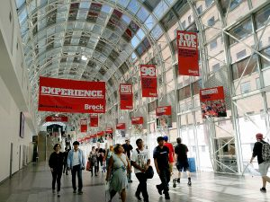Brock University is spreading its message at the Skywalk in Toronto, reaching thousands of pedestrians in the area of Union Station.