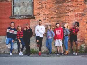 A look at some of the clothing at the Campus Store, chosen by students.