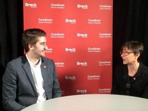 Matt Grootjen with Susan LeBlanc.