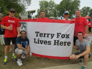 Terry Fox team