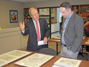 Dan Livermore with Mark Robertson