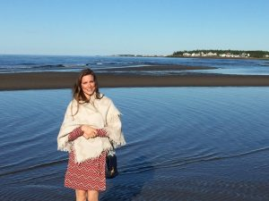 Jennifer Bonato at the YWCA Canada's AMM in Shediac New Brunswick this past June.