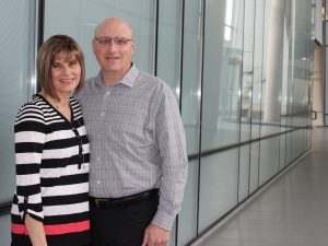 Brock University alumni John and Michele Zoccoli.