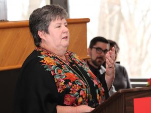 Assistant professor Nicola Simmons
