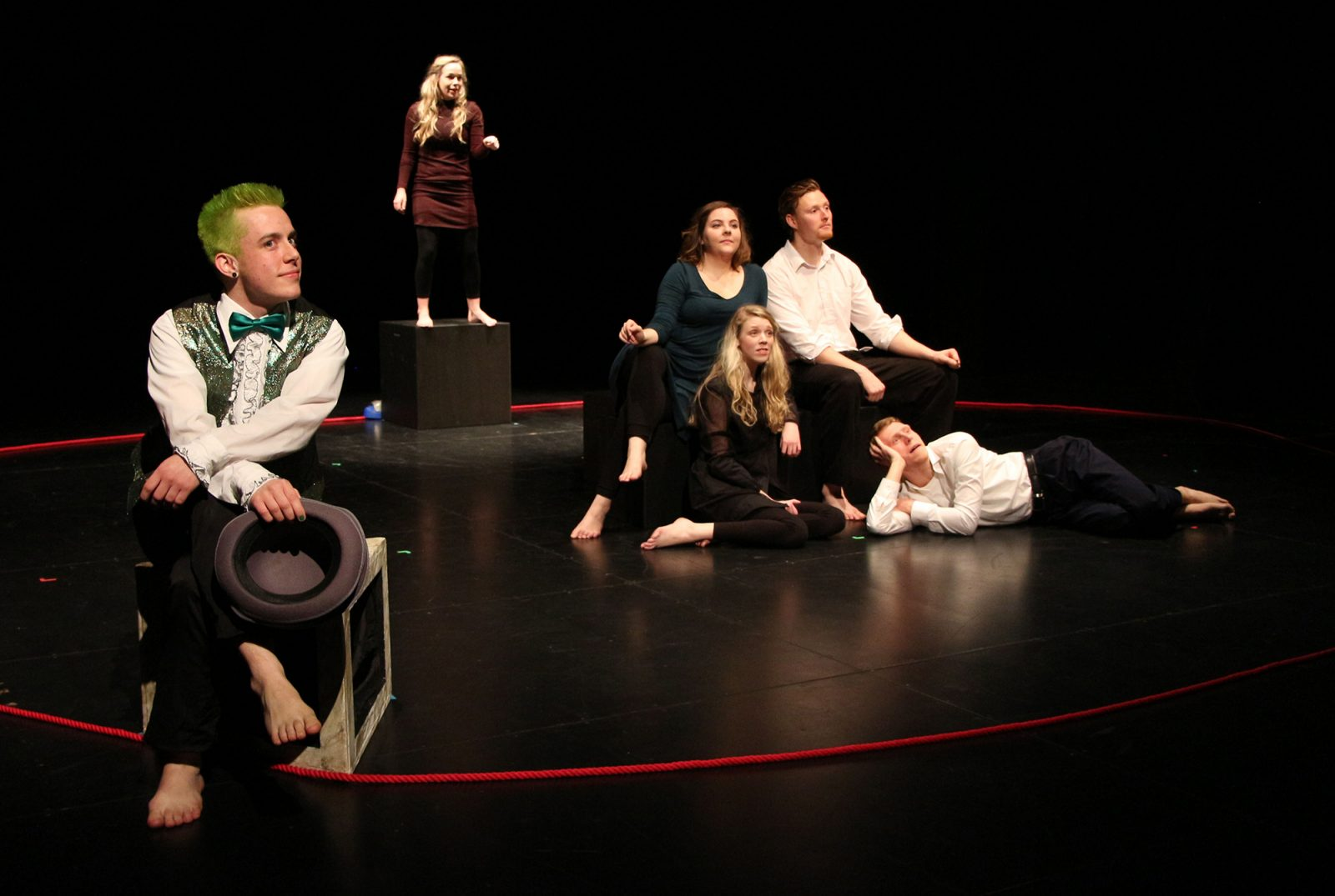 The Bacchae production