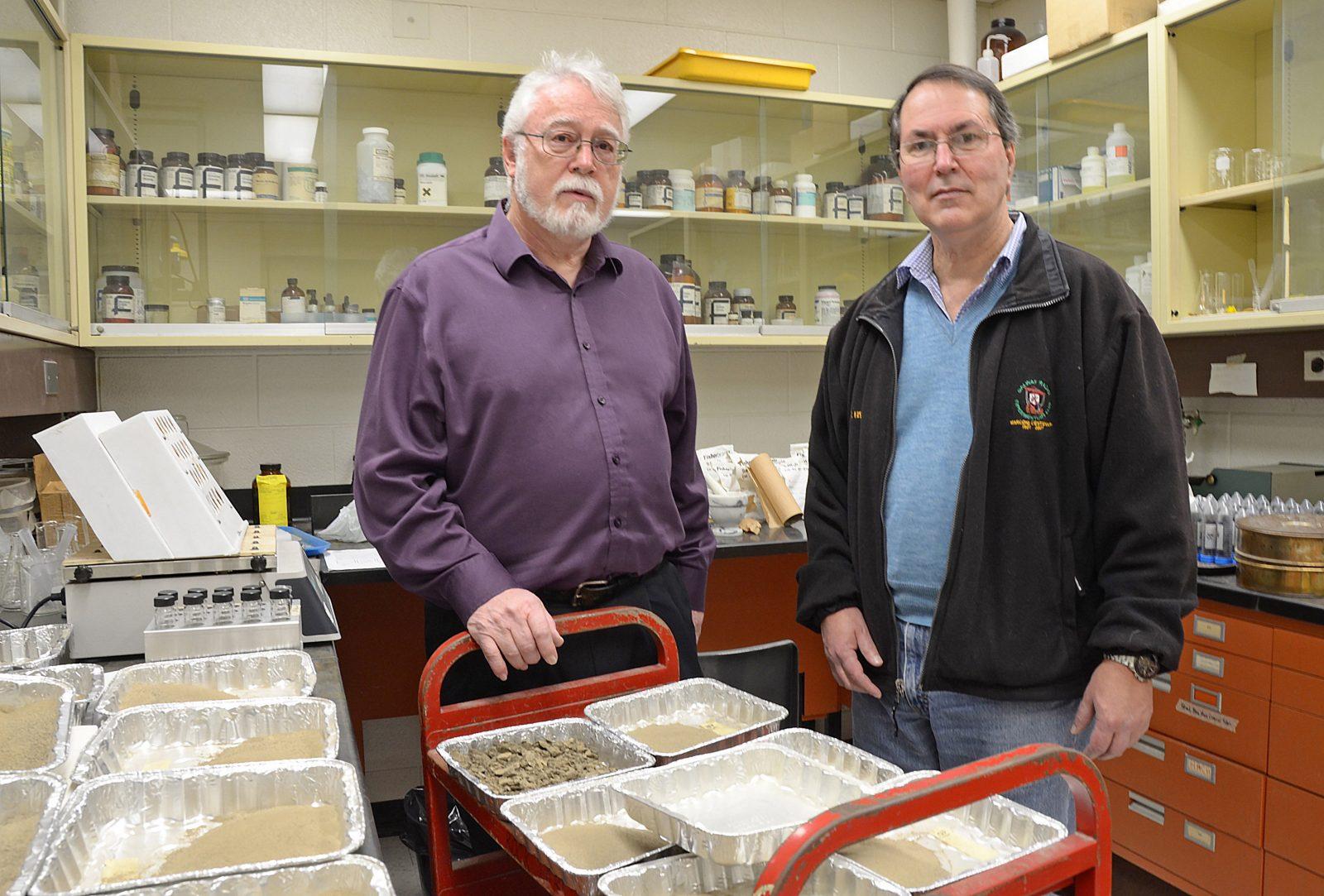 Uwe Brand and Nigel Blamey