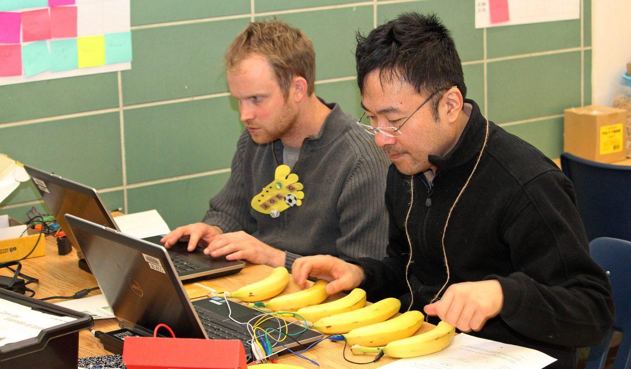 Banana piano at Makerspace