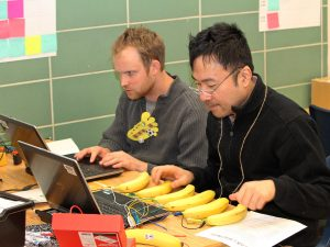 Banana piano at Makerspace