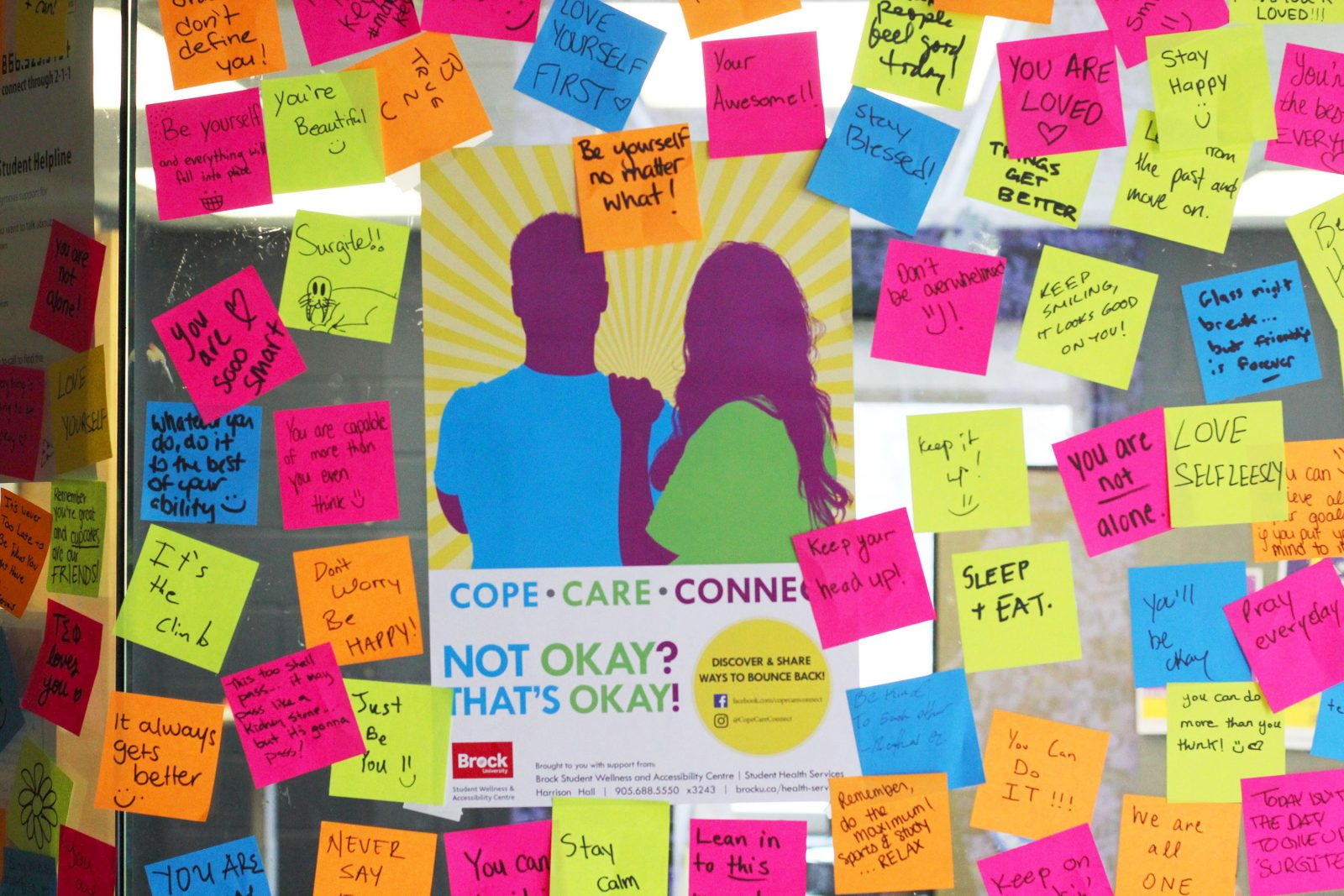 Cope Care Connect campaign