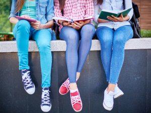 Students in denim